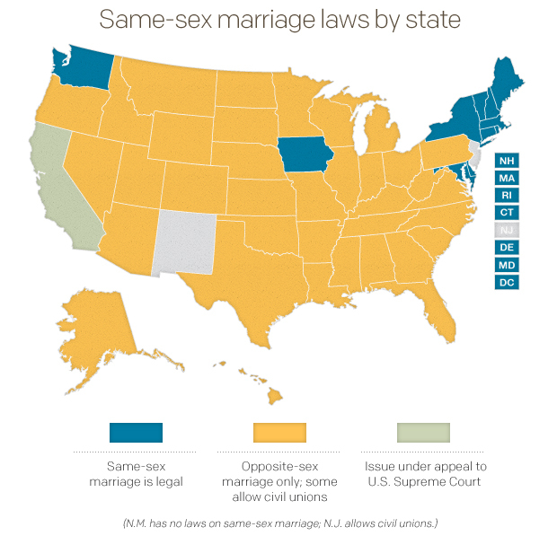 gay marriages should be legalized The us supreme court rules that same-sex marriage is a legal right - a decision president obama hails as a victory for america.